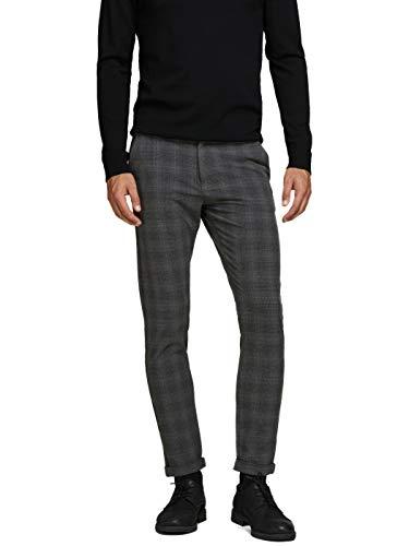 JACK & JONES - Pantalon Hombre Color: 25-Marengo/GRISFOSC Talla: 29
