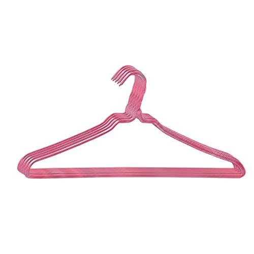 株式会社オリタニ 針金ハンガー 40センチ幅 25本セット ピンク