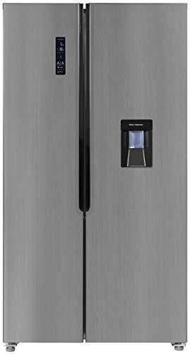 Exquisit Side by Side Kühlschrank SBS 110-4 XWTA A+ | No Frost | 518 Liter | Inox