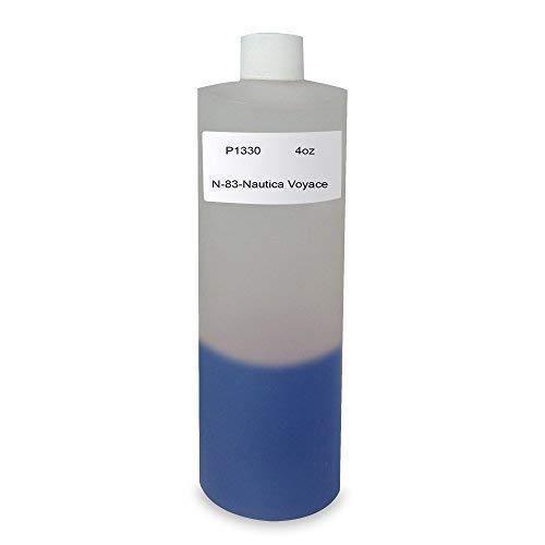 4 Oz, Bargz Perfume - P 1330 N-83-Nautica Voyace Body Oil For Men Scented Fragrance