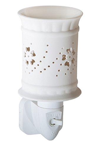 Candle-lite - Nachtlicht, Sula, Weiß, 7.5 x 10.5 x 12 cm