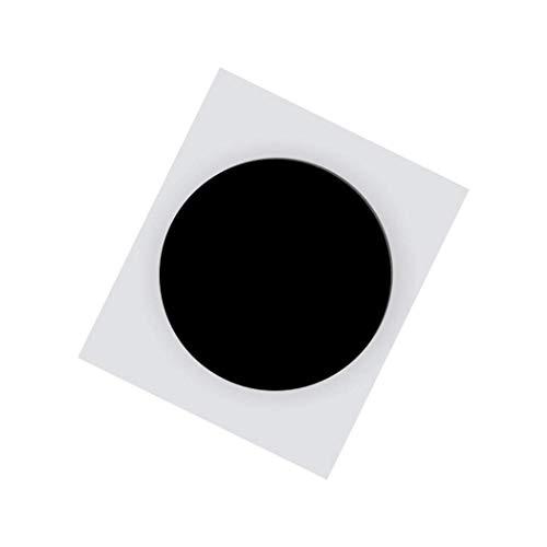 10枚 NFCステッカー NTAG 213 NFCタグ/ 25 mm(1インチ)黒 円形/ 144バイトメモリ/すべてのNFC電話機との互換- Timeskey NFC