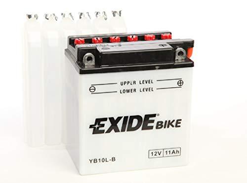 Batteria moto EXIDE EB10L-B 11Ah 130A dimensioni 135X90X145