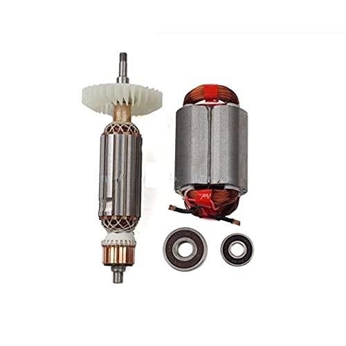 SDUIXCV Motor de estator de Rotor de Armadura AC220-240V para Amoladora Angular Makita GA GA5030 GA4530 GA4030 GA5034 GA4534 GA4031 GA4030R GA4034 (Color : Rotor stator Bearing)