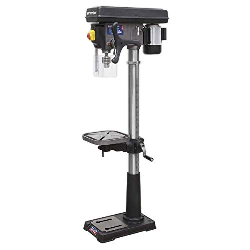 Sealey PDM210F 16-Speed Floor Pillar Drill, 1610mm Height, 230V