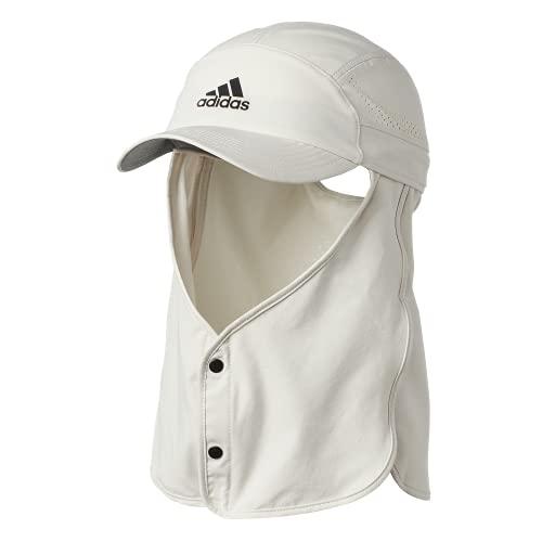 adidas Superlite Caravan Sun Protection Relaxed Adjustable Cap, Alumina/Beige, One Size