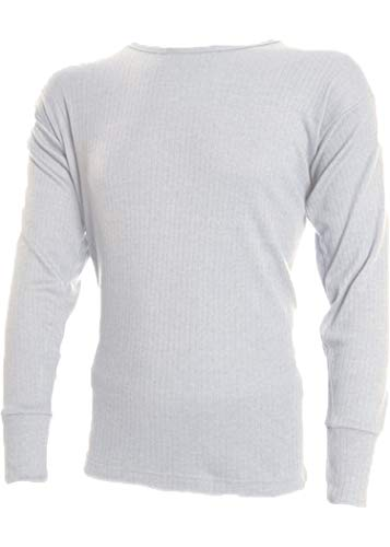 Soacks Uwear Sous-vêtement thermique à manches longues pour homme, hiver - Blanc - XXL
