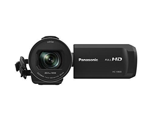 Panasonic hc-v800ef-k Videocamera Nero