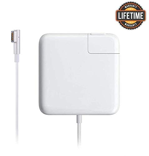 Mac Book Pro Charger, 60W Magsafe 1 Power Adapter L-Tip Magnetic Connector Charger, for Mac Book Pro 13-inch (Before Mid 2012 Models)