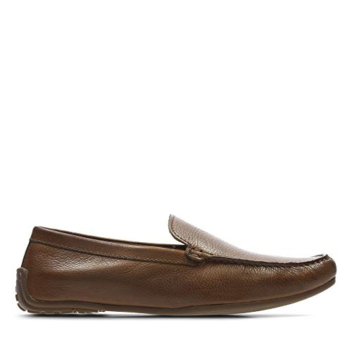 Clarks Reazor Edge, Mocasines para Hombre, Marrón (Tan Leather-), 40 EU