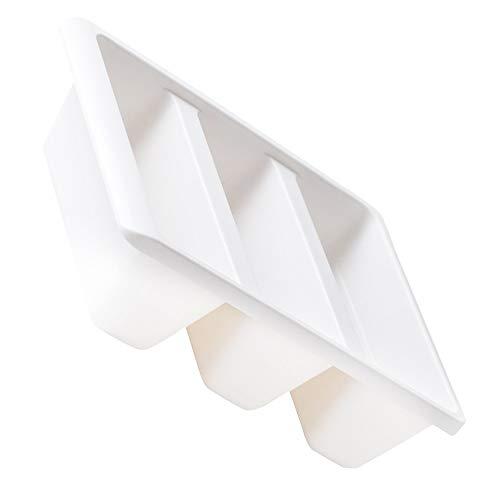ZDZQTM La Caja de Zapatos Creativo Vertical Zapato Titular de la Zapata de Almacenamiento Caja de plástico a Prueba de Polvo Organizador for el hogar (Blanco) (Color : White)