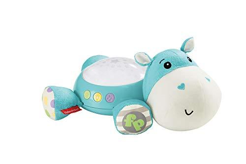 Fisher-Price Hippo blau Schlummerlicht Nachtlicht Spieluhr Projektor mit Musik Einschlafhilfe