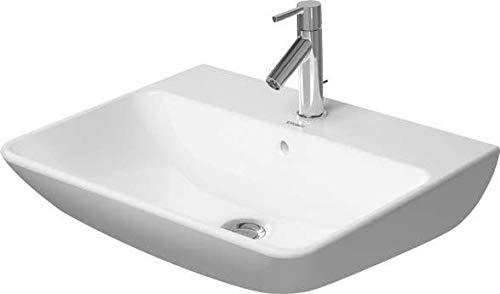 Duravit Waschtisch ME by Starck 600 mm, mit 3 Hahnlöcher, weiß, 2335600030