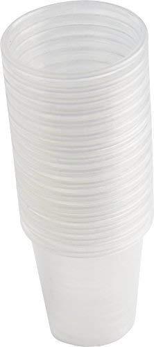 80 Stück Medikamentenbecher Medizinbecher Schnapsbecher Premium von Medi-Inn Farbe: (transparent)