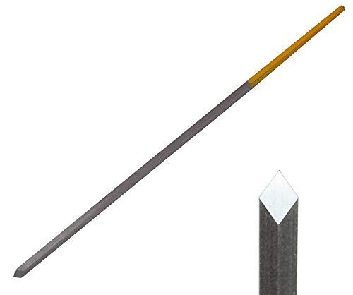 バローベ 彫刻刀 彫金 細工 ハイス高速度鋼 洋彫りタガネ グレーバー LO0501 スクエア HSS 2.25mm AF0501.225.HS