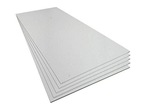 Styroporplatten - Stärke 20 mm - Breite 56cm - Länge 117cm - 3,27m² - 5 Stück