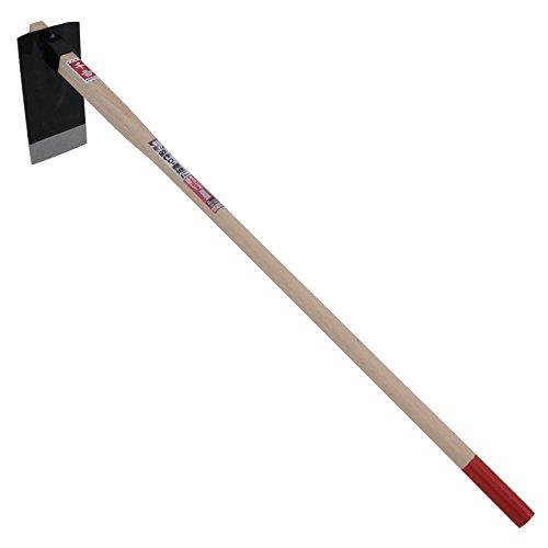 千吉 くわ 団地鍬 柄長1050mm 土づくり作業用 刃物鋼 木柄 奥行12.5×高さ106×幅24cm