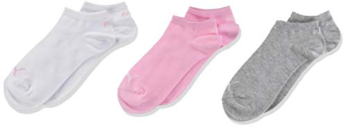 PUMA Kids' Invisible Socks (3 Pack)