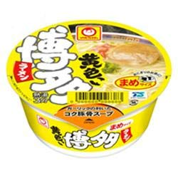 東洋水産 マルちゃん 黄色いまめ博多ラーメン 37g×12個入
