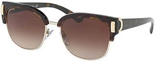 نظارات شمسية للنساء من بولغاري، لون بني، طراز 8189، اطار مربع