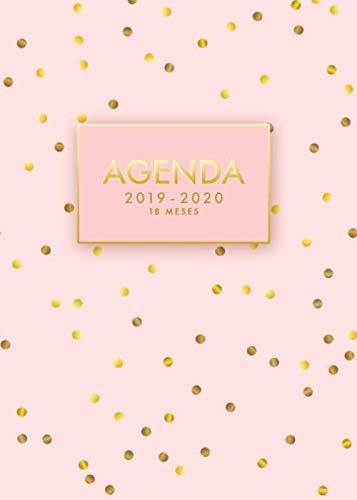 Agenda 2019/2020   18 meses: Agenda Semanal Mensual Diario...