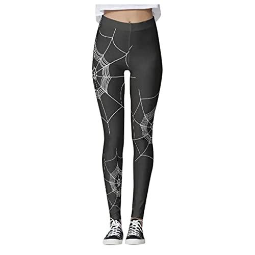 Leggings de yoga para mujer, cintura alta, para gimnasio, deporte, yoga, correr, entrenamiento, medias de compresión, elásticas, pantalones de entrenamiento con estampado