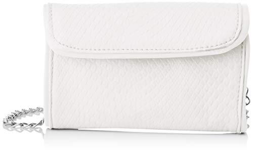 SwankySwans Molly, Bolsa de embrague para Mujer, White, One Size