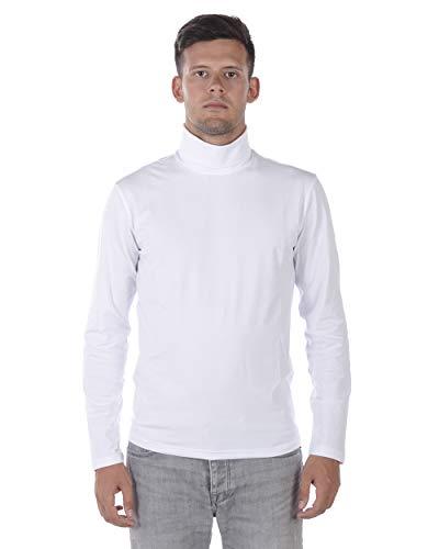Maglia Maglione Daniele Alessandrini Sweater ITALY Uomo Nero M5705E4603705 1