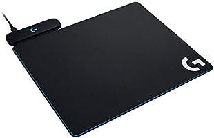 Mouse Pad para Carregamento Sem Fio Logitech G Powerplay, Superfície de Tecido ou Rígida, Compatível mouses sem fio G502,...