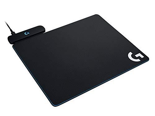 Mouse Pad para Carregamento Sem Fio Logitech G Powerplay, Superfície de Tecido ou Rígida, Compatível mouses sem fio G502, G703, PRO e G903