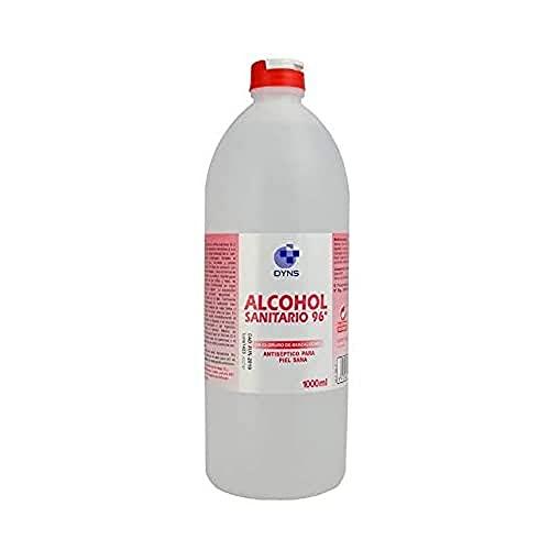 DYNS Alcohol Sanitario 96§ 1L, Estándar, Único, 12