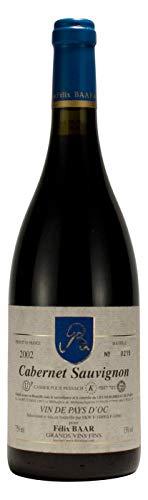 Cabernet Sauvignon Pays d'Oc 2002 - Kosherer Rot-wein aus Languedoc Roussilion, Frankreich - Trocken, Mewushal
