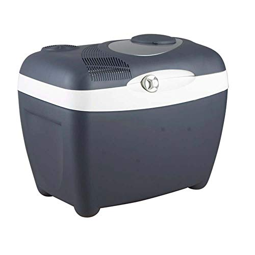 Flashing Comfortabele auto-koelkast, 32 liter, dual use, halfgeleiderverwarming en koelbox, elektrische koeler