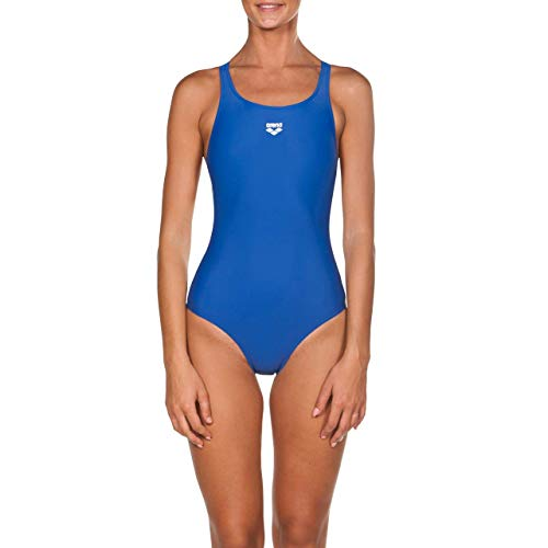 ARENA - W Team Fit Racer Back One Piece, Costume sportivo Donna, Blu (Royal), 42 IT
