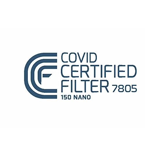 FeineHeimat atemious PRO 10 x Komfort Vlies FFP2 Atemschutzmaske Made in Germany mit Zertifikat CE 2163 - 6