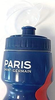 BARBACADO Gourde de Sport PSG Bleu, Gourde Paris Saint-Germain 650 ML Bleu réutilisable, Cadeau Enfant, Cadeau Fête des Pères, Cadeau Papa
