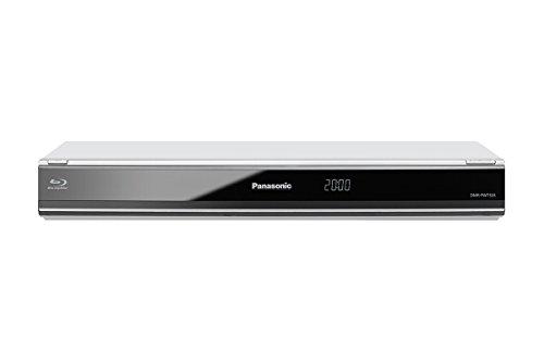 Panasonic PWT535 Lettore Blu-Ray con HDD da 250 GB, Doppio Tuner HD Digitale Terrestre, Wi-Fi, Argento