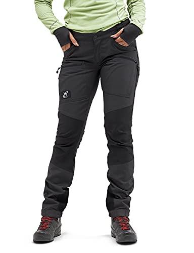 RevolutionRace Damen Nordwand Pro Pants, Hose zum Wandern und für viele Outdoor-Aktivitäten, Anthracite, 40
