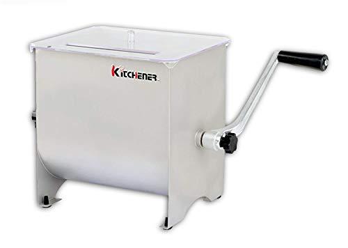 Kitchener Heavy Duty Commercial Grade Edelstahl handkurbel Fleisch Mixer
