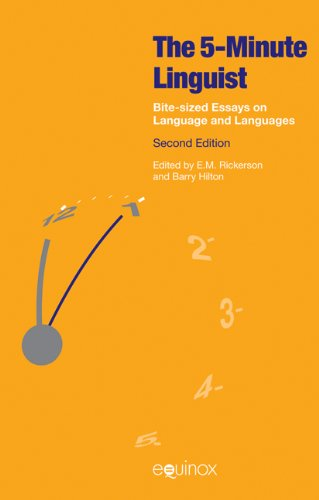 The 5 Minute Linguist: Bite-Sized Essays on Language and Languages