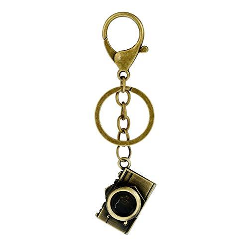 Joyfeel buy 1 Stück Kreatives Schlüsselanhänger Retro Kamera Form Frauen Tasche Anhänger Legierung Schlüsselbund für Schlüssel/Auto/Tasche/Handy