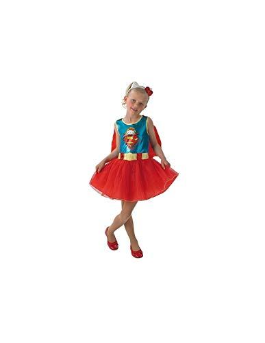 DISBACANAL Disfraz Supergirl Hello Kitty Infantil - -, 3-4 años