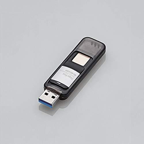 エレコム『指紋認証付きUSBメモリ(MF-FPU3032GBK)』