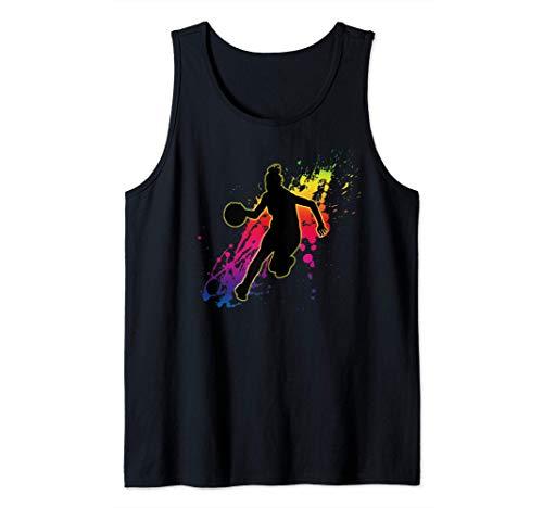 Regalo de jugador de baloncesto femenino Camiseta sin Mangas