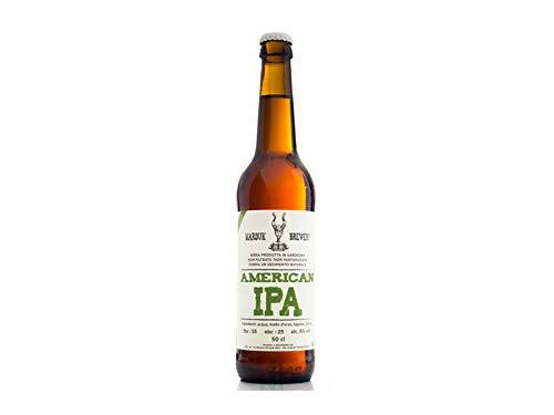6 x 0.50 l - American Ipa, Indian Pale Ale birra artigianale prodotta dal microbirrificio di Irgoli, Marduk