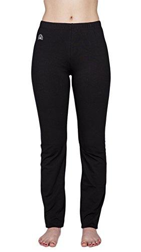 Sonnengruss Yogahose Damen (L Short, schwarz)