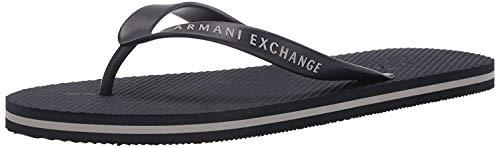 Armani Exchange Flip Flop PVC+Eva, Infradito Uomo, Blu (Navy 00285), 38 EU
