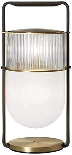 JAOSY Moderno Modelo de Vidrio Sala de Estar Dormitorio lámpara de Noche lámpara de Escritorio Estudio Decorado Individualmente 20 * 42 cm