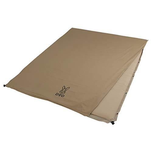 DOD(ディーオーディー) ソトネノサソイL 丸洗いシーツ付き 厚み4.5cmエアマット カマボコテントにフィット CM3-622-TN