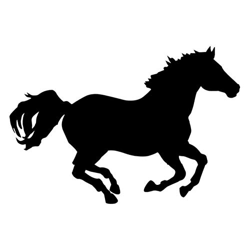 MUXIAND autosticker, Pentium horse PVC DIY Light Voor Turn Signal Bumper Window Creatieve Decor Supply Motorfiets Car-Styling Hood Deur 14X9.5CM 5 Stks